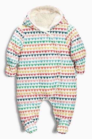 Buy Multicoloured Print All-In-One (0-18mths) from the Next UK online shop