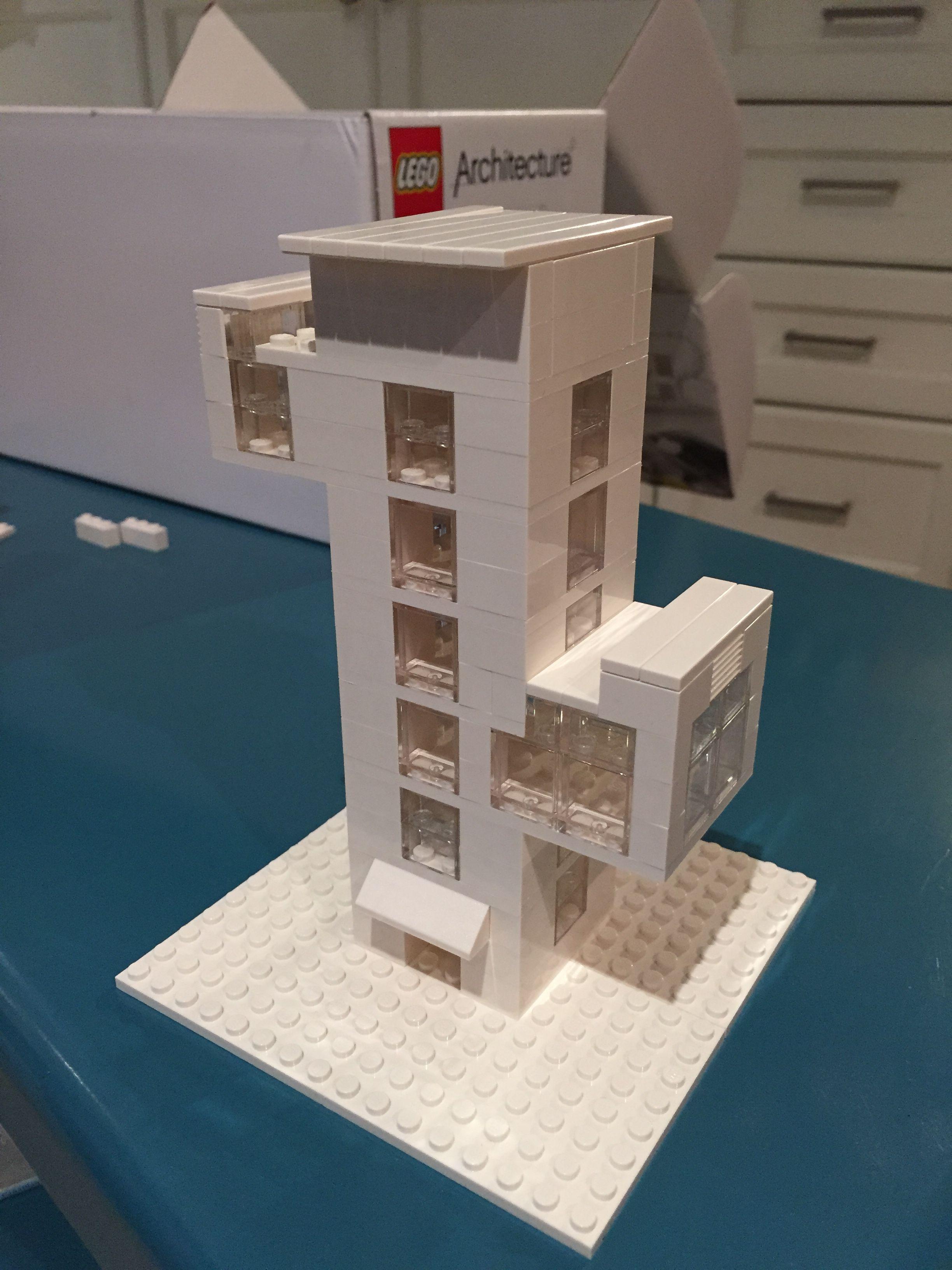 Lego architecture Studio Cactus inspired apartment