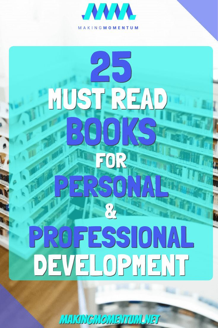 25 Books On Personal And Professional Development My