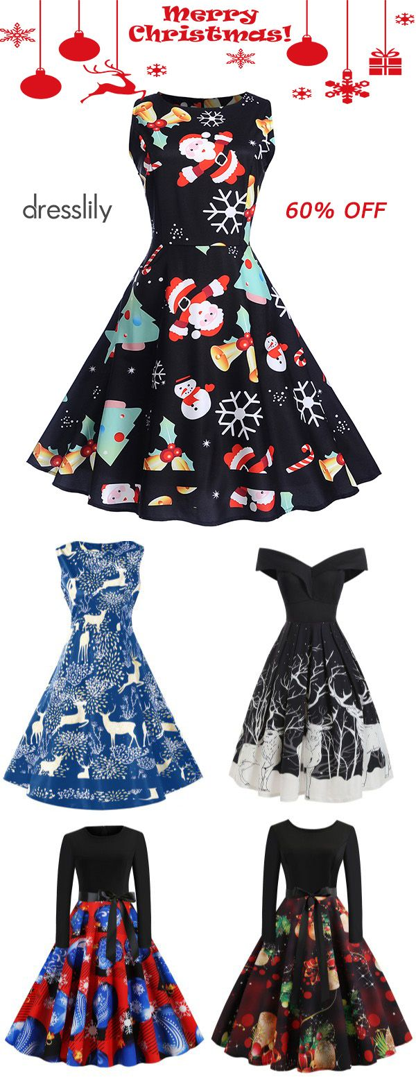 Novelty Christmas Clothing | Christmas Party Dresses