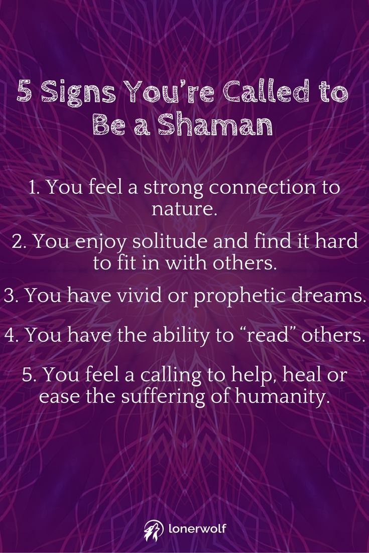 11 Signs You're Called to Be a Shaman   spiritual growth