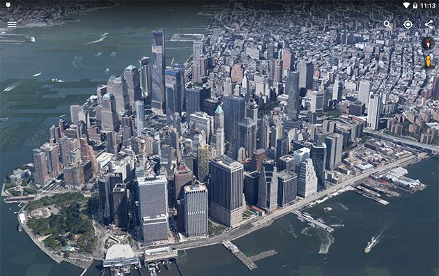 Google Earth For Android Is Now Faster Better At 3d Exploration