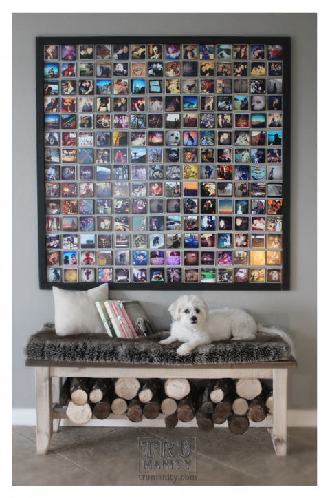 diy instagram wall home pinterest fotos fotos aufh ngen und w nde. Black Bedroom Furniture Sets. Home Design Ideas