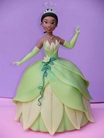 Princess Tiana Cake Com Imagens Bonecas Artesanais A Princesa