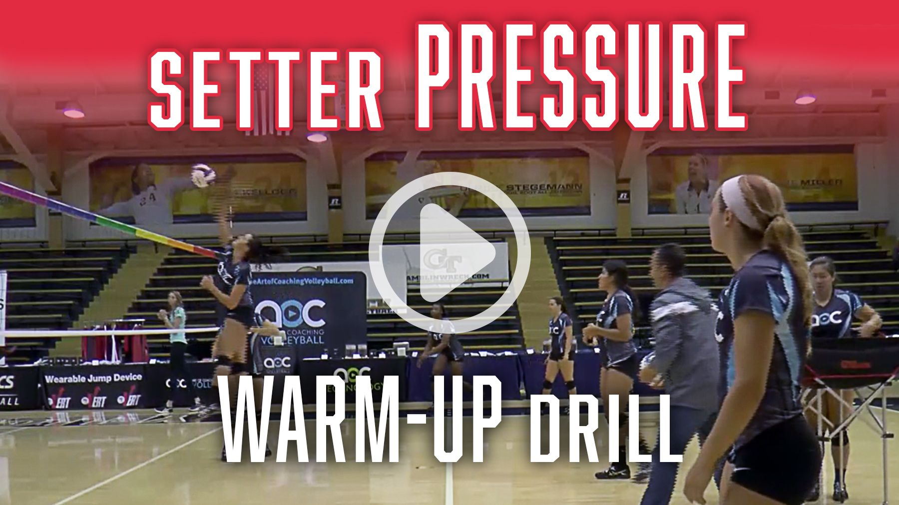Setter Pressure Warmup Drill The Art Of Coaching Volleyball Coaching Volleyball Volleyball Setter Volleyball Drills