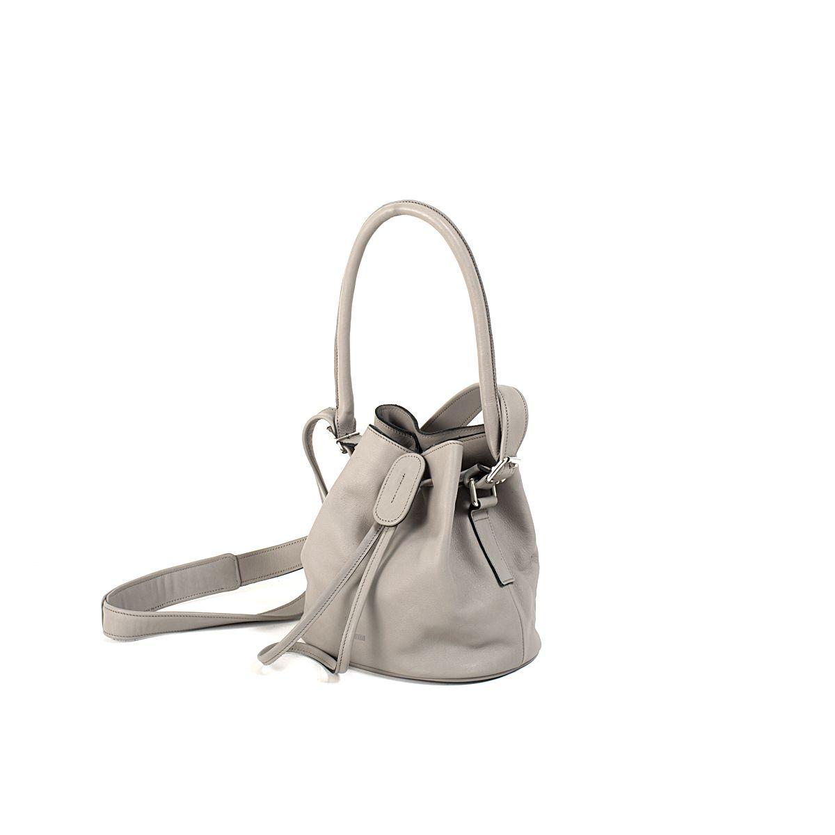 73403b7a31c90 Maaria Small Bucket Bag Grey-Black | Lumi Accessories | // B A G S ...