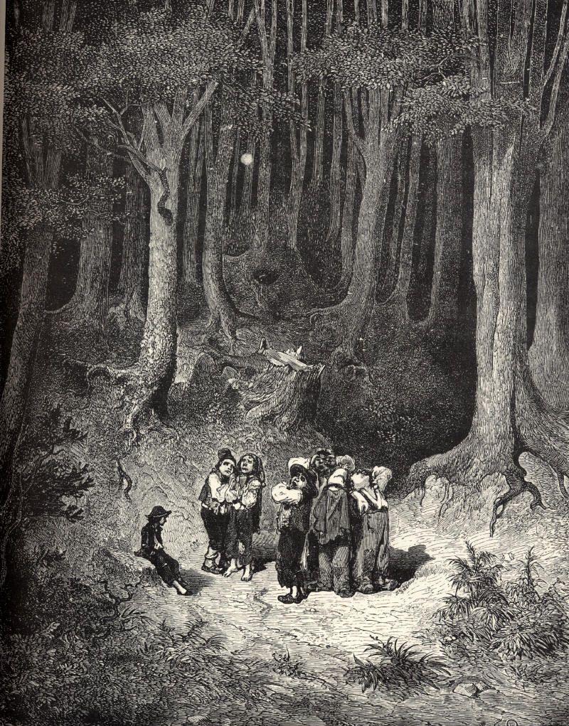 Gustave Doré Le Petit Poucet : gustave, doré, petit, poucet, Épinglé, Eerie.jpg, Petit, Poucet,, Gustave, Doré,