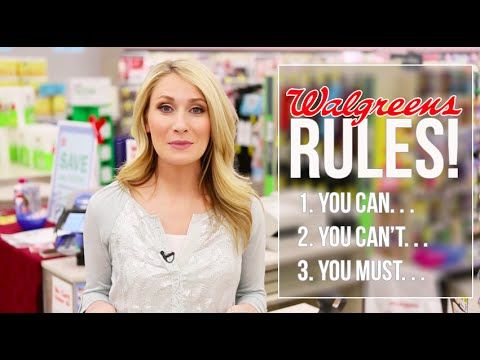 15 Rules Every Walgreens Coupon-Shopper Needs to Know | Saving Money
