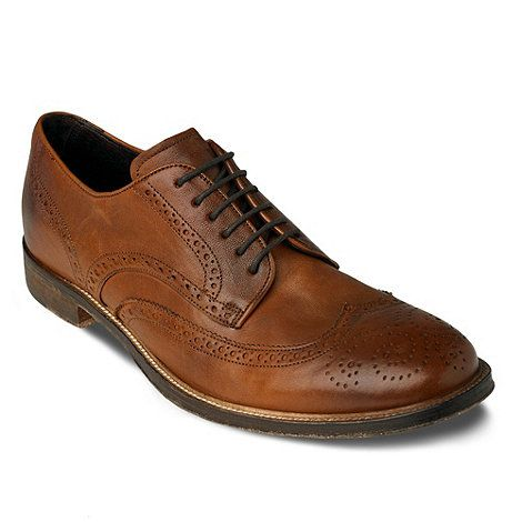 BROGUE FORMAL - Schnürer - tan rLUOXufrXk