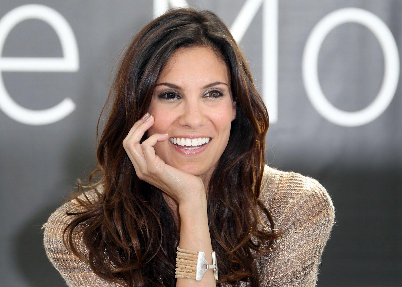 Hollywood Has Portuguese Beauty Daniela Ruah Beauty Long Hair