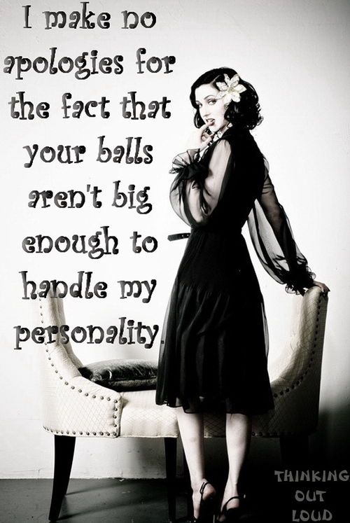 Women Strong Personality Quotes | ecards & other funny shit