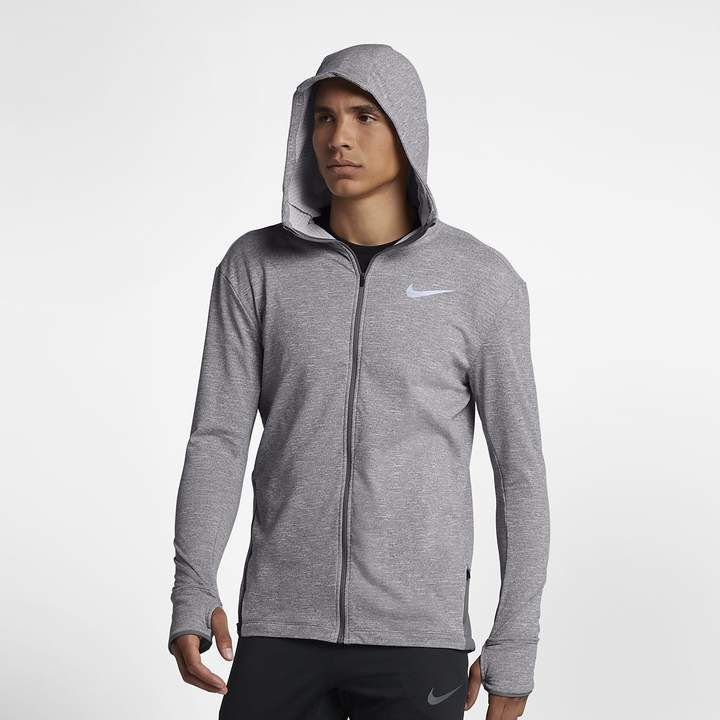c78f284f8d1f Nike Men s Full-Zip Running Hoodie Sphere Element 2.0