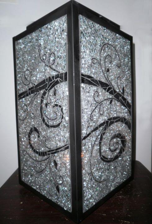 Crash glass Lantern