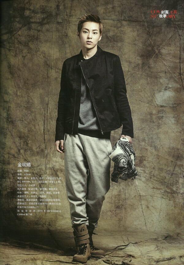 [PHOTOSHOOT] EXO in Men's Style Magazine August, 2013  Xiumin