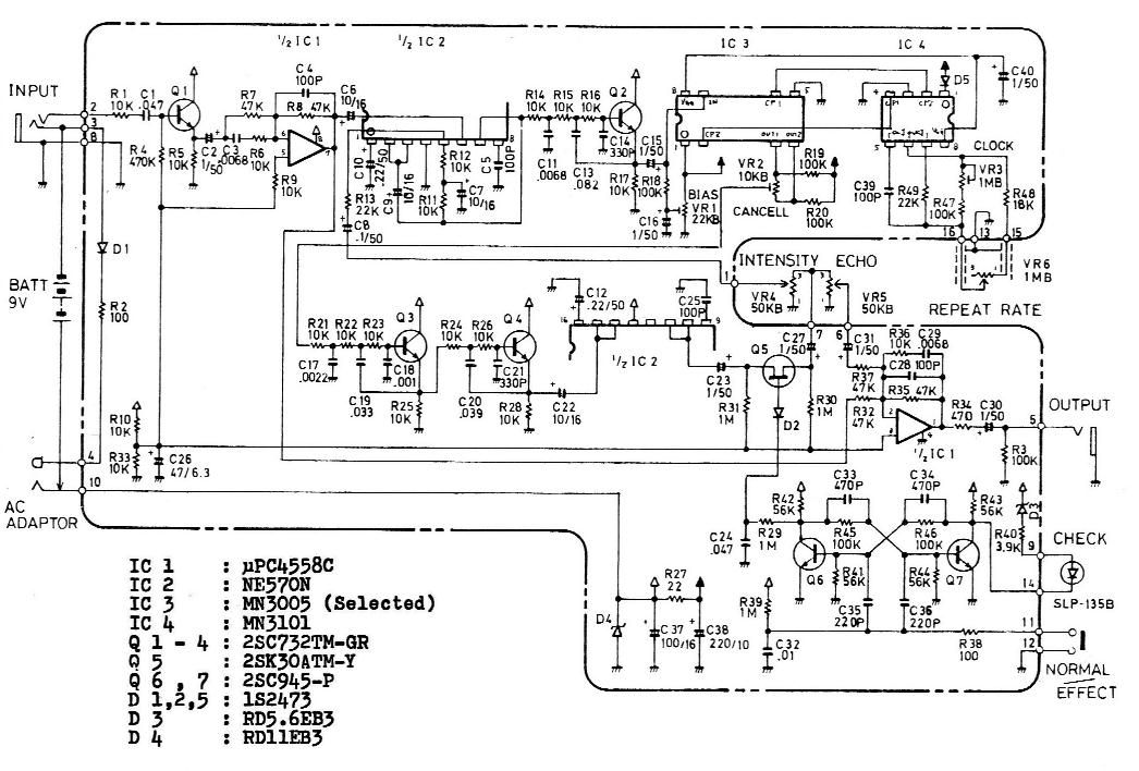 The Free Information Society Boss Dm2 Electronic Circuit