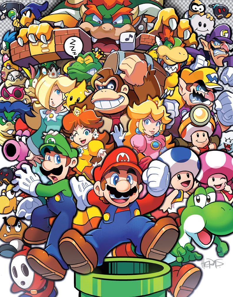 For Nbsp First Looks Nbsp At New Art Behind The Scenes Info And Sneak Peeks Exclusive Content And More Be Sure To Subscrib Super Mario Art Mario Art Mario