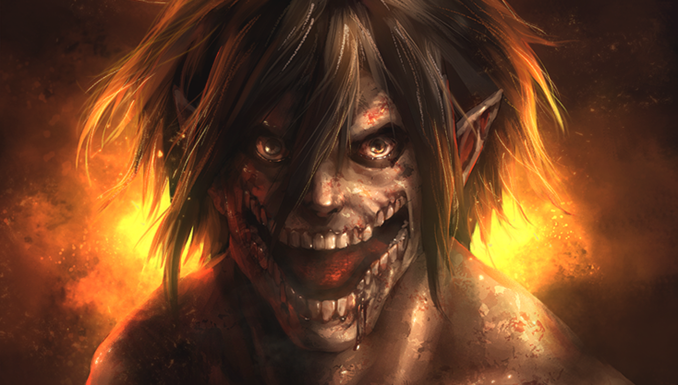 Anime Attack On Titan Eren Yeager Titan Wallpaper Eren Attaque