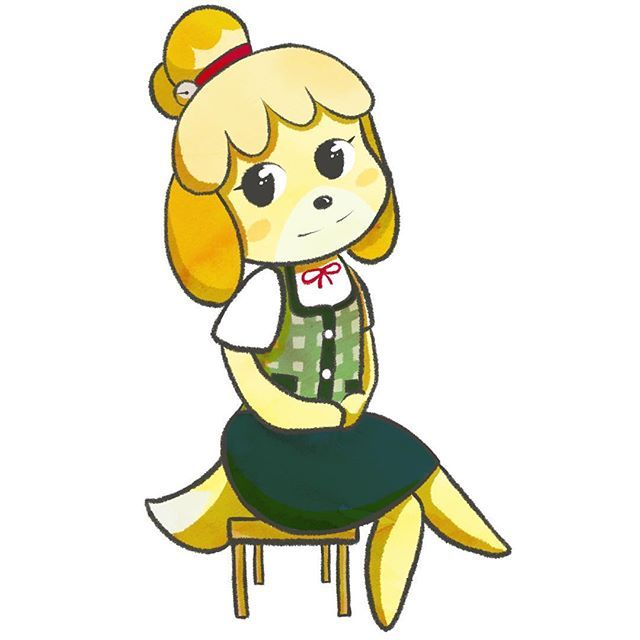 I wanted to do something animal crossing ever since hearing the news! I am so hyped about some of the announcements during the nintendo direct! Animal crossing final fantasy 9 10 and 12 :D I love 12 xD I have been saying since switch day one that it needed an animal crossing game! Anyway here is Isabelle! #animalcrossing #isabelle #nintendo #nintendoswitch #switch #drawing #doodle #sketch #ipad #ipadpro #procreate #apple #applepencil #artist #artistsoninstagram #cute