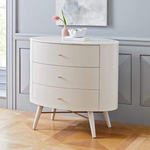 Penelope 3-Drawer Dresser - Oyster w/ Marble Top in 2018 Girlie