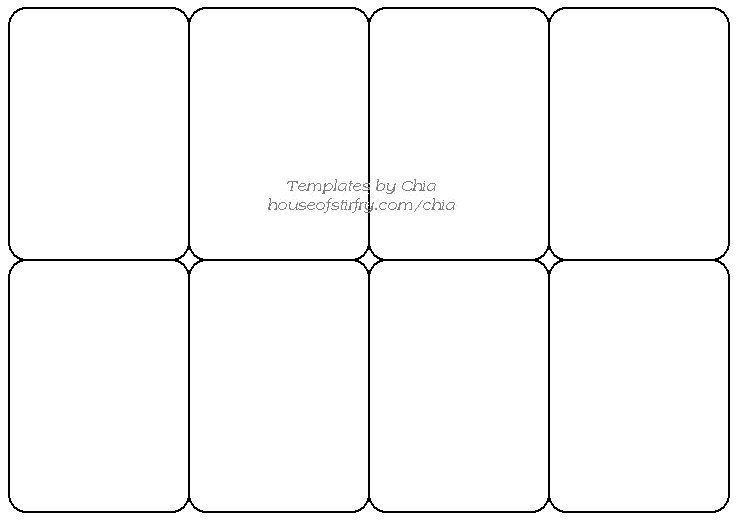 Trading Card Game Template Free Download Trading Card Template Printable Playing Cards Blank Playing Cards