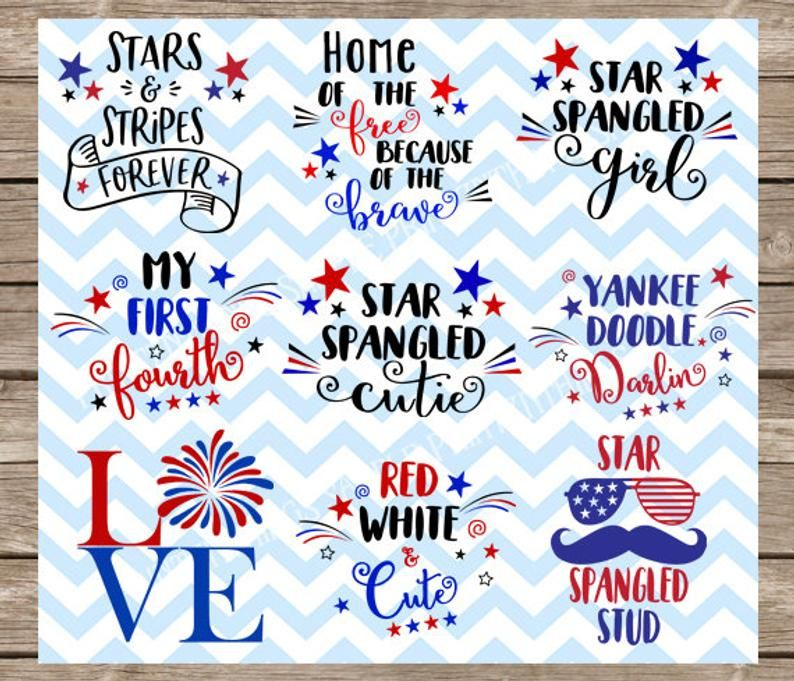 4th Of July American Svg Patriotic Svg Fourth Of July Svg Svg Files For Cricut Svg Silhouette Silhouette Cameo Svg Bundle Svg Pack Fourth Of July 4th Of July Cricut