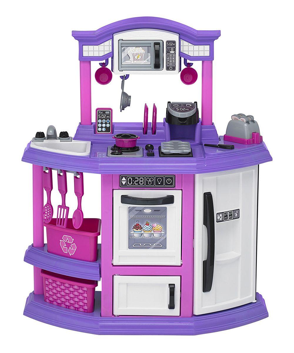 Purple Baker's Kitchen Set Play kitchen sets, Play