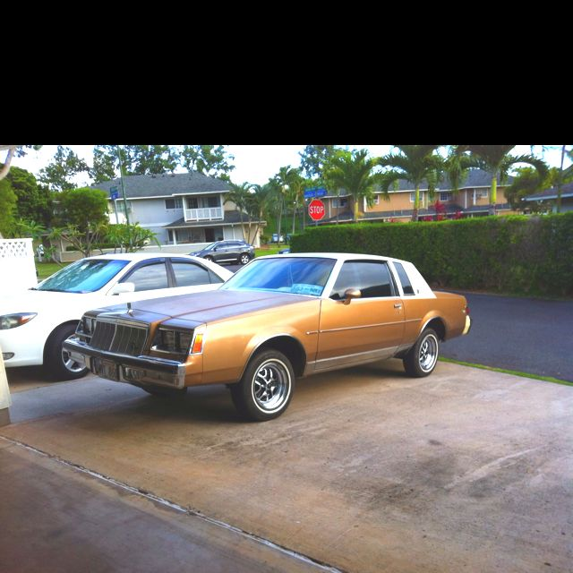 Buick Regal Lowrider For Sale: Mine Was White With Maroon Interior