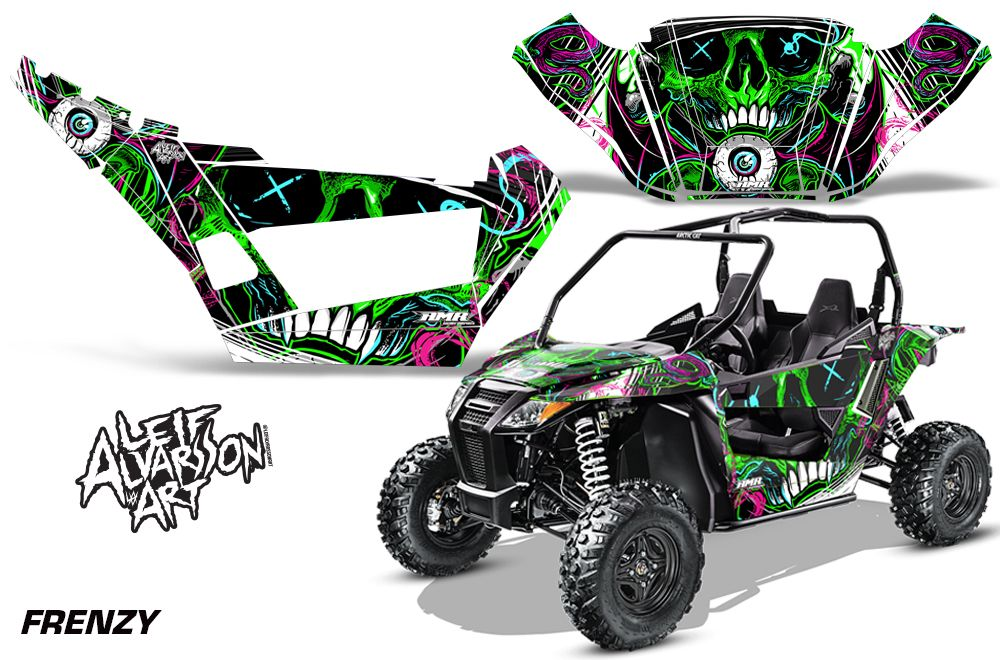Arctic Cat Wildcat Sport XT 700 Graphic Kit 20152016