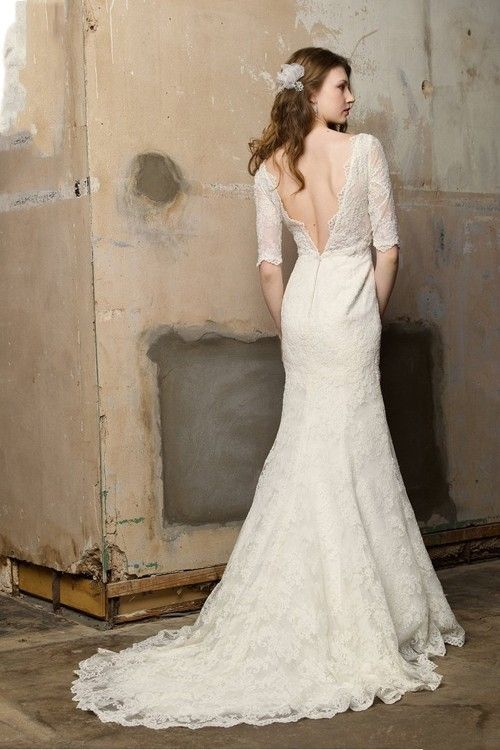 21 Gorgeous Lace Wedding Dresses