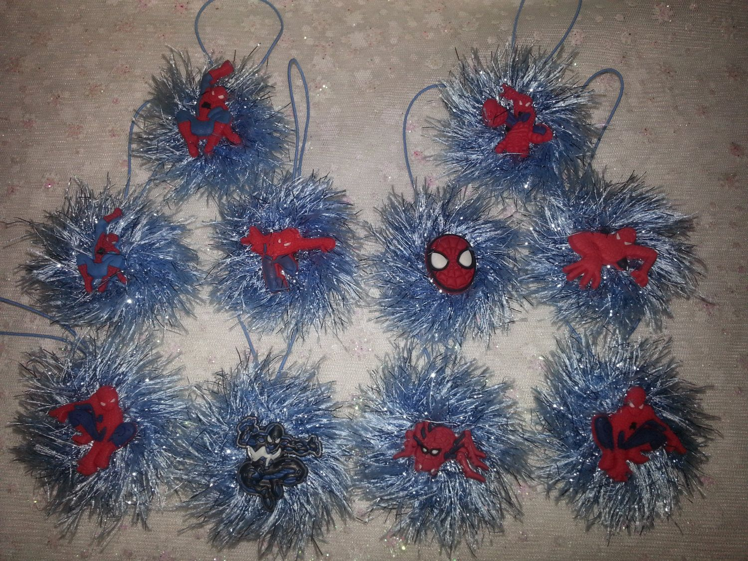 Spiderman Christmas Ornaments Super Heroes 10