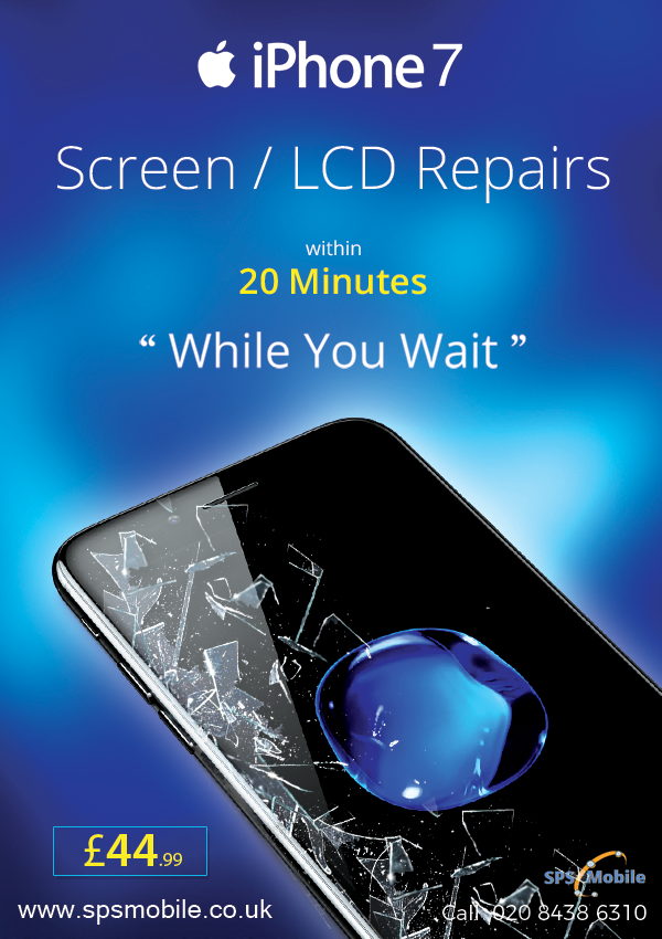 Iphone 7 Cracked Lcd Screen Replacement London 10 Discount Iphone Repair Screen Repair Iphone Screen Repair