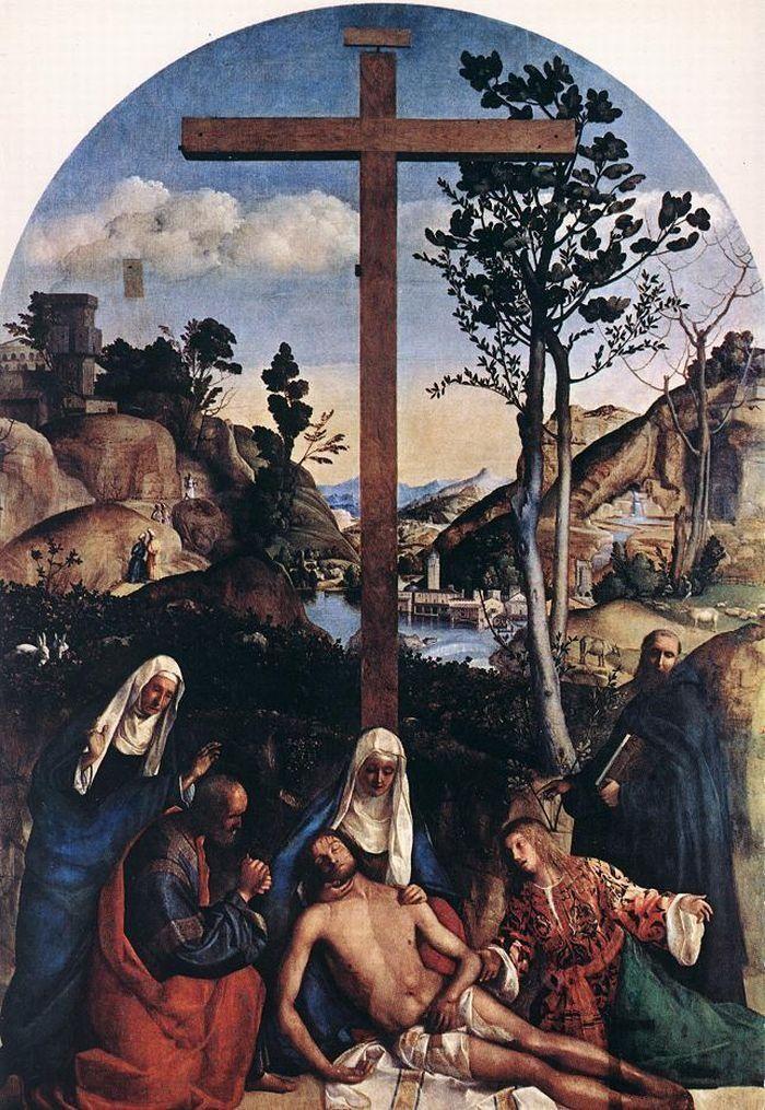 Giovanni Bellini Descendimiento De La Cruz Producción Artística Artistas Arte Renacentista