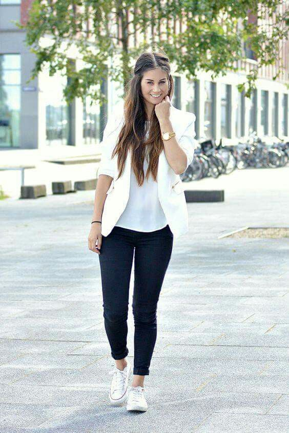 Moda Converse   vestuario   How to wear converse with jeans