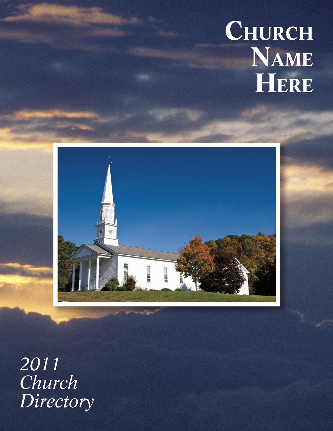 Church directories directory for churches church for Free church photo directory template