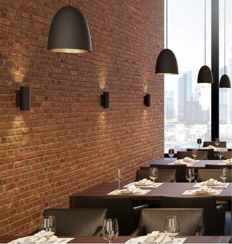 Studio Line LED Round Up Down Wall Lights Velvet Black Brass 50 1304