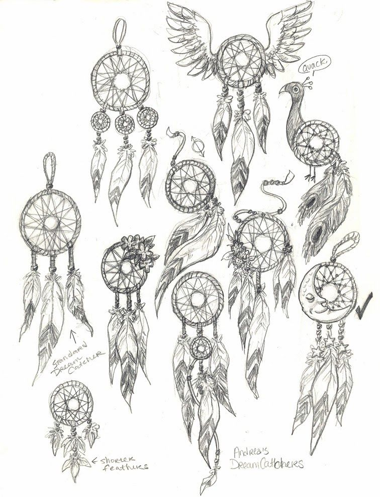 How To Draw Dream Catchers Step By Step Google Search Dream
