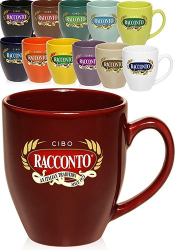 16 Oz Bistro Glossy Coffee Mugs In Bulk Whole Prices Get These Customizable Personalized By Having Them Printed Or Engraved With Logos