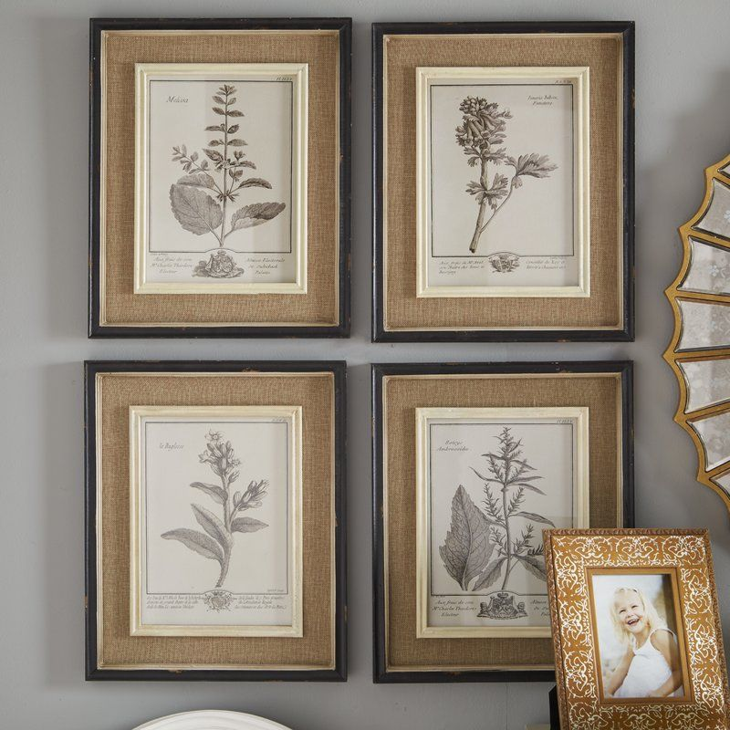 Vintaged Style With This Framed Print Set Perfect Paired Weathered Mirrors Richly Finished Wall Racks And Ornately Detailed Baroque Decor