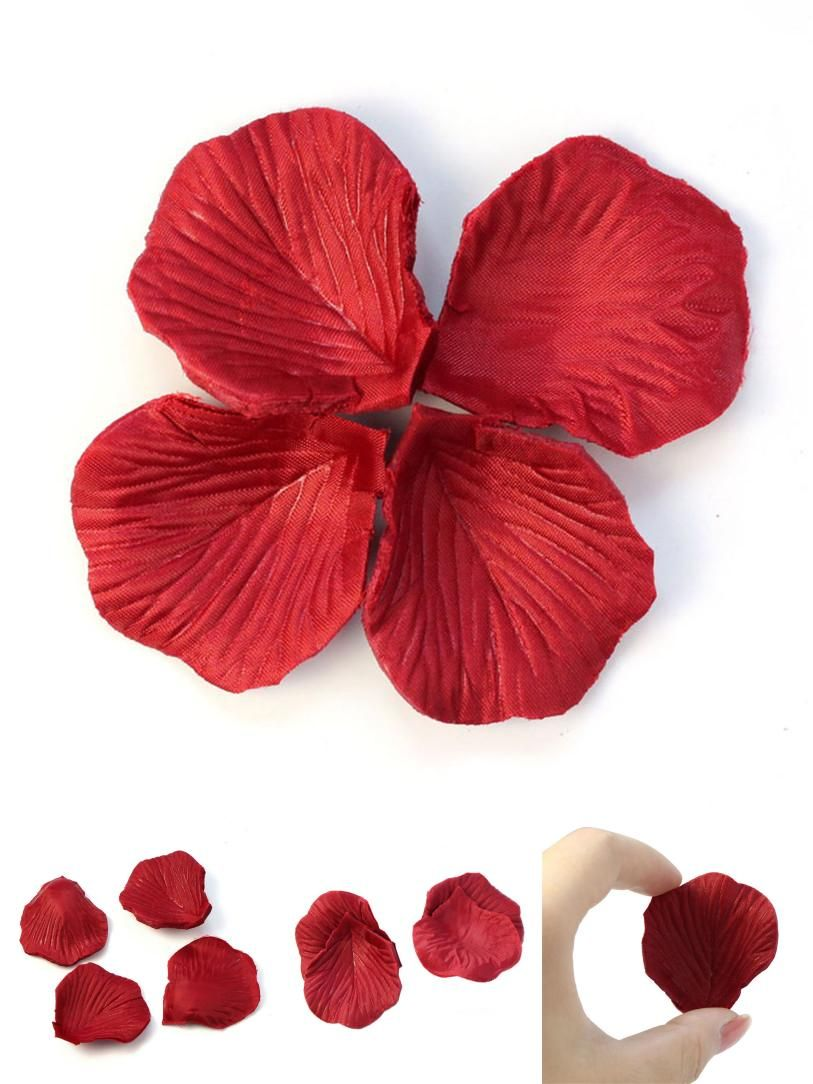 Visit to buy wholesale 200pcs red non woven fabric flower rose cheap fake flowers buy quality flower rose directly from china wholesale flowers suppliers wholesale red non woven fabric flower rose petals party izmirmasajfo Choice Image
