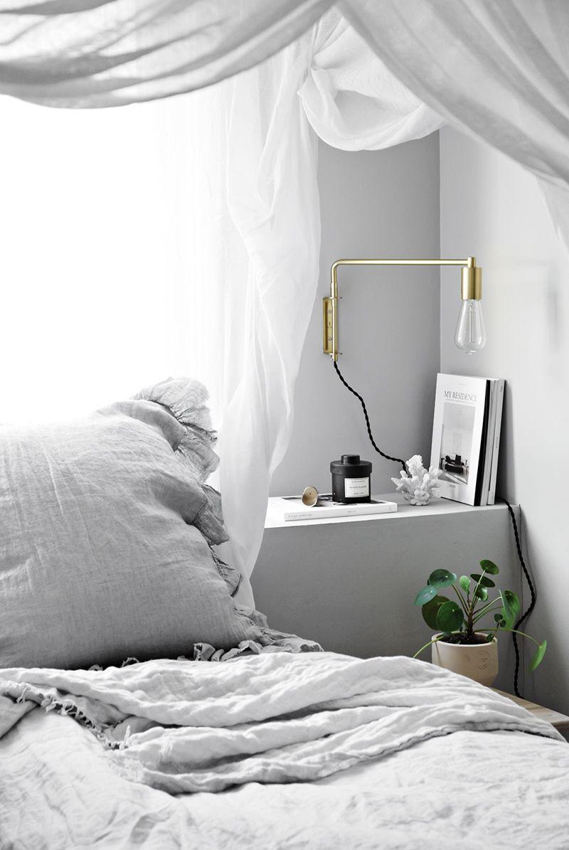 Neues schlafzimmer interieur bedroom update  zuhause neue wohnung im skandistil  pinterest