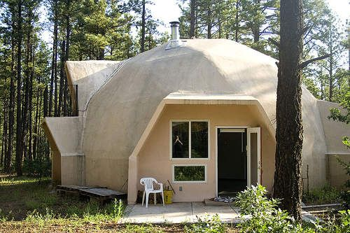 Dome House, Living Spaces, Unusual Homes, Mineral, Haunted Mansion, Weird,  Pictures Of, Alternative
