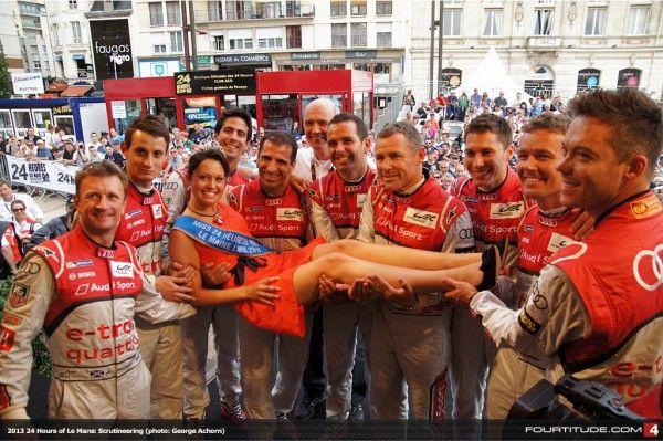 2013 24 Hours of Le Mans: Scrutineering