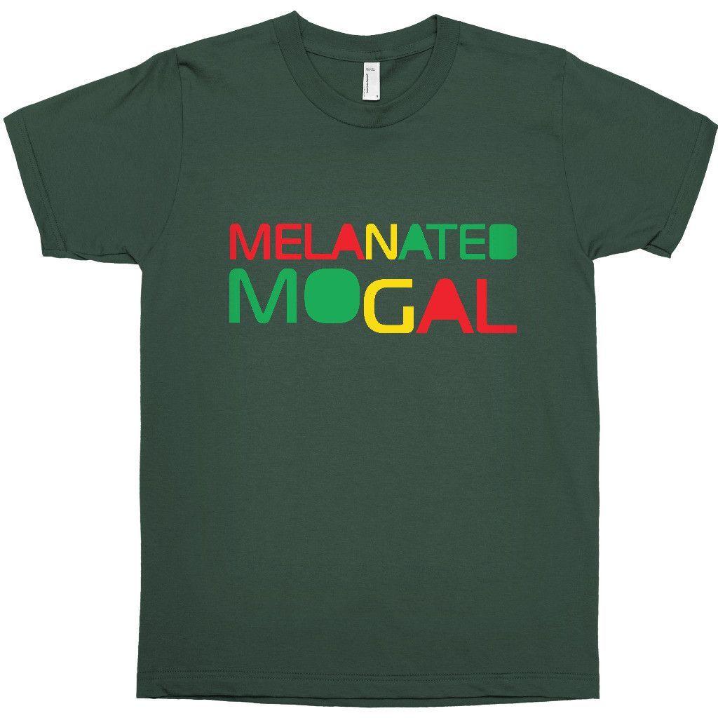 MELANATED MOGUL T-SHIRT - BLACK EMPOWERMENT TEE