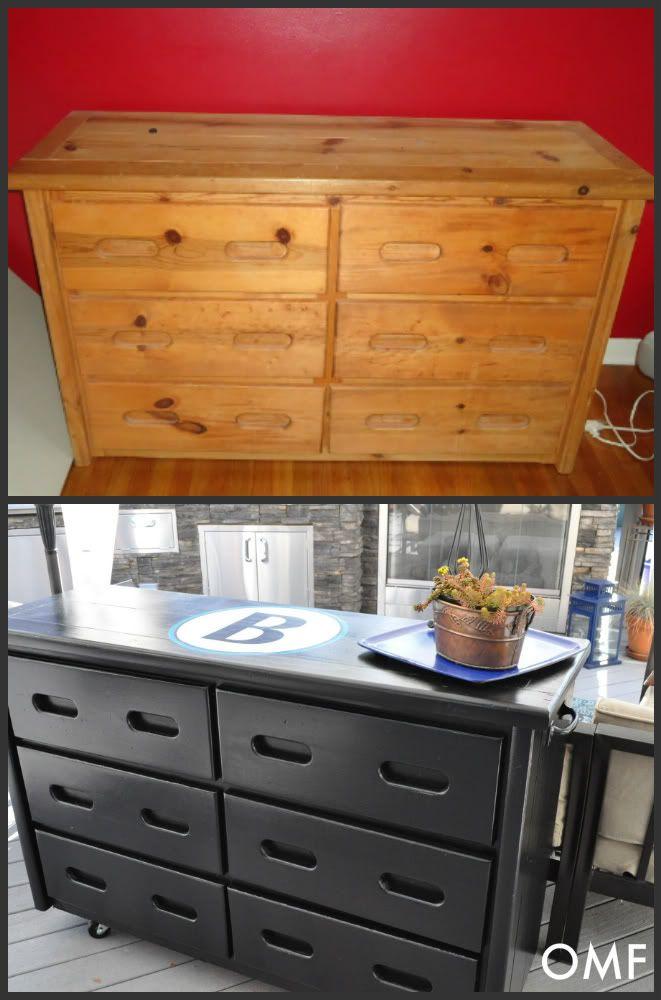 Old Furniture Garage S Into Kitchen Island Find The