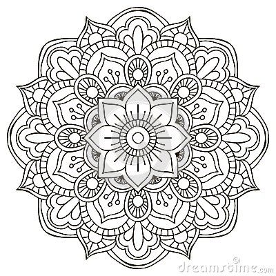 Worksheet.  Mandala para Colorear    Pinteres