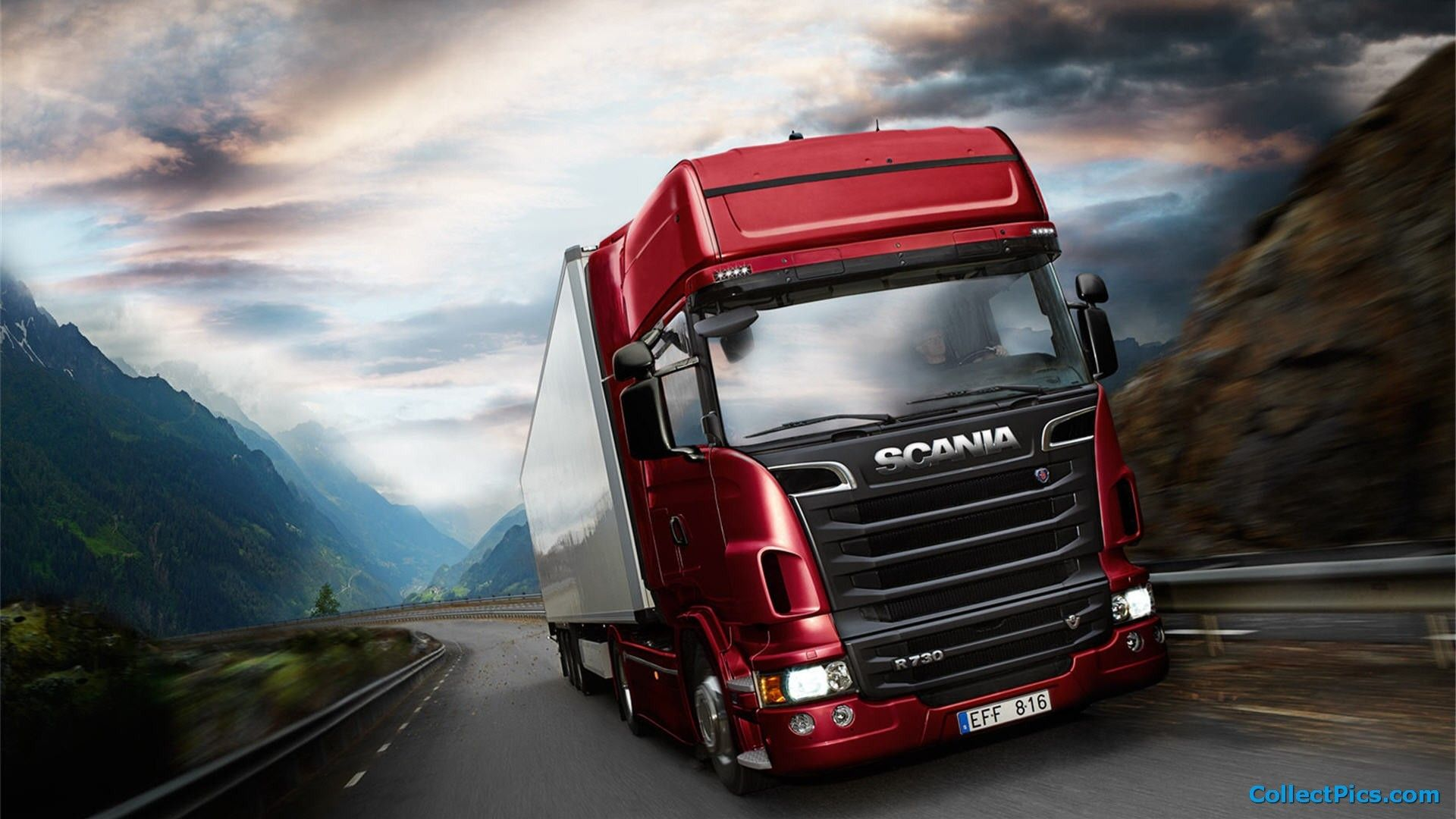 Scania Trucks Wallpapers 61 Images With Images Trucks Cool