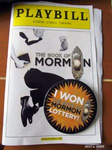 London theatre tickets book of mormon