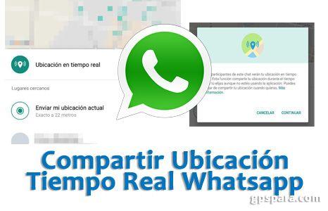Como Compartir En Whatsapp Tu Ubicación En Tiempo Real Whatsapp Ubicación Moviles App Tecnología Redessociales Compartir Redes Sociales Mi Ubicación