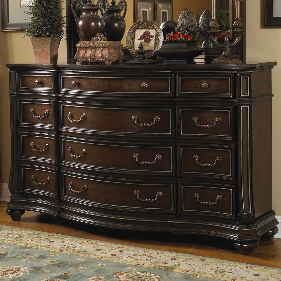 Bedroom Furniture Dresser Fairmont Designs Furniture C7008 05 Wellingsley Dresser Home