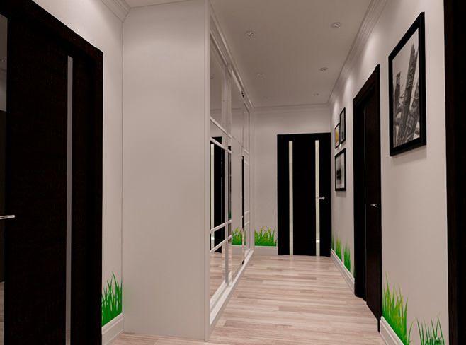 интерьер прихожей в маленькой квартире фото
